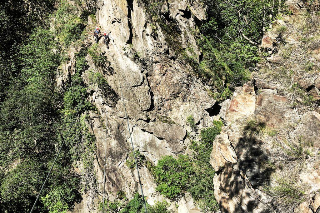 Hoachwoll Klettersteig in Südtirol